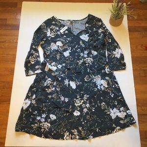Floral Print Old Navy Maternity Dress